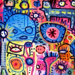 Pamplemousse Funky - 160 x 120 cm
