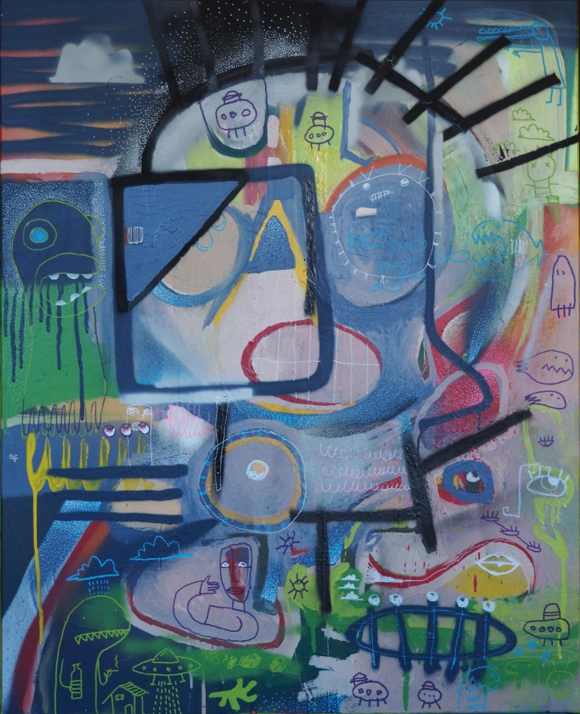 Abstract Jones - 81 x 100 cm